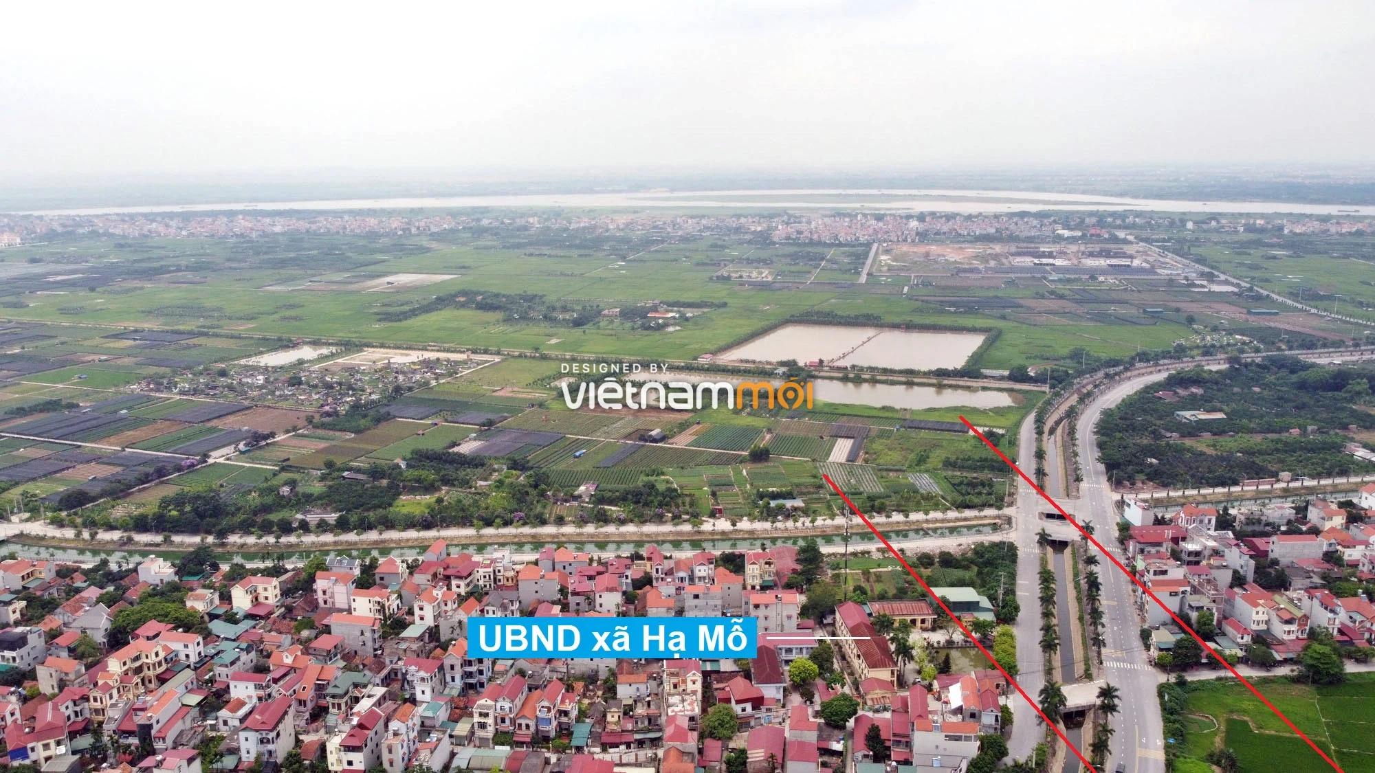 Toàn cảnh đường Vành đai 4 theo quy hoạch qua huyện Đan Phượng, Hà Nội - Ảnh 6.