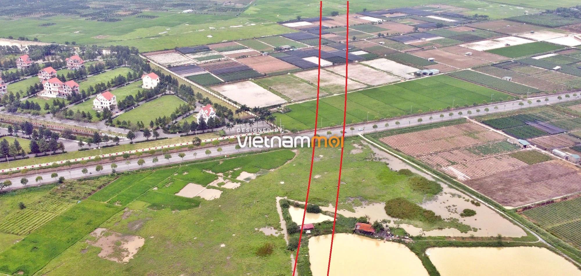 Toàn cảnh đường Vành đai 4 theo quy hoạch qua huyện Đan Phượng, Hà Nội - Ảnh 10.