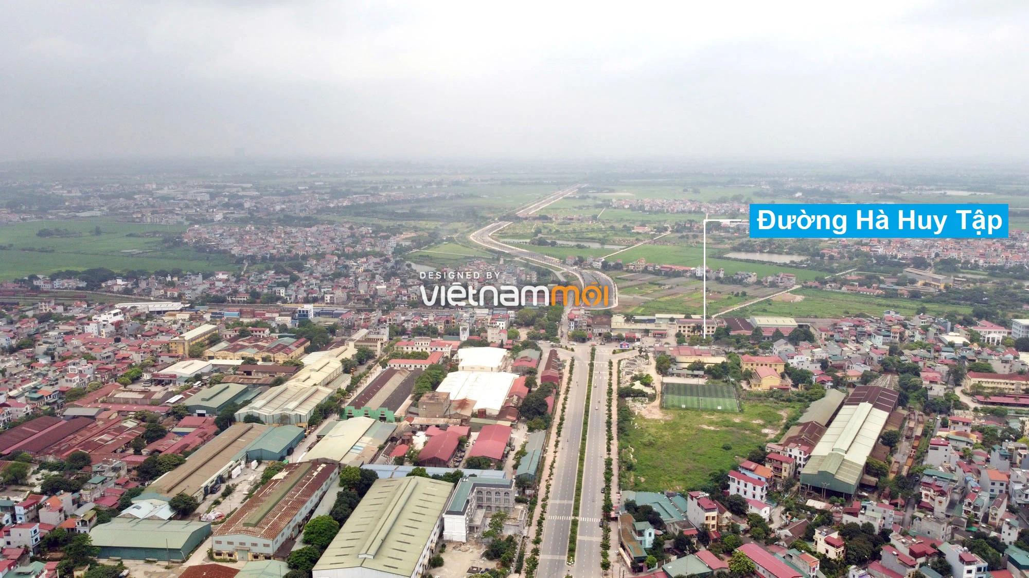 Toàn cảnh tuyến đường 40 m qua xã Yên Viên, Yên Thường đang mở theo quy hoạch ở Hà Nội - Ảnh 1.