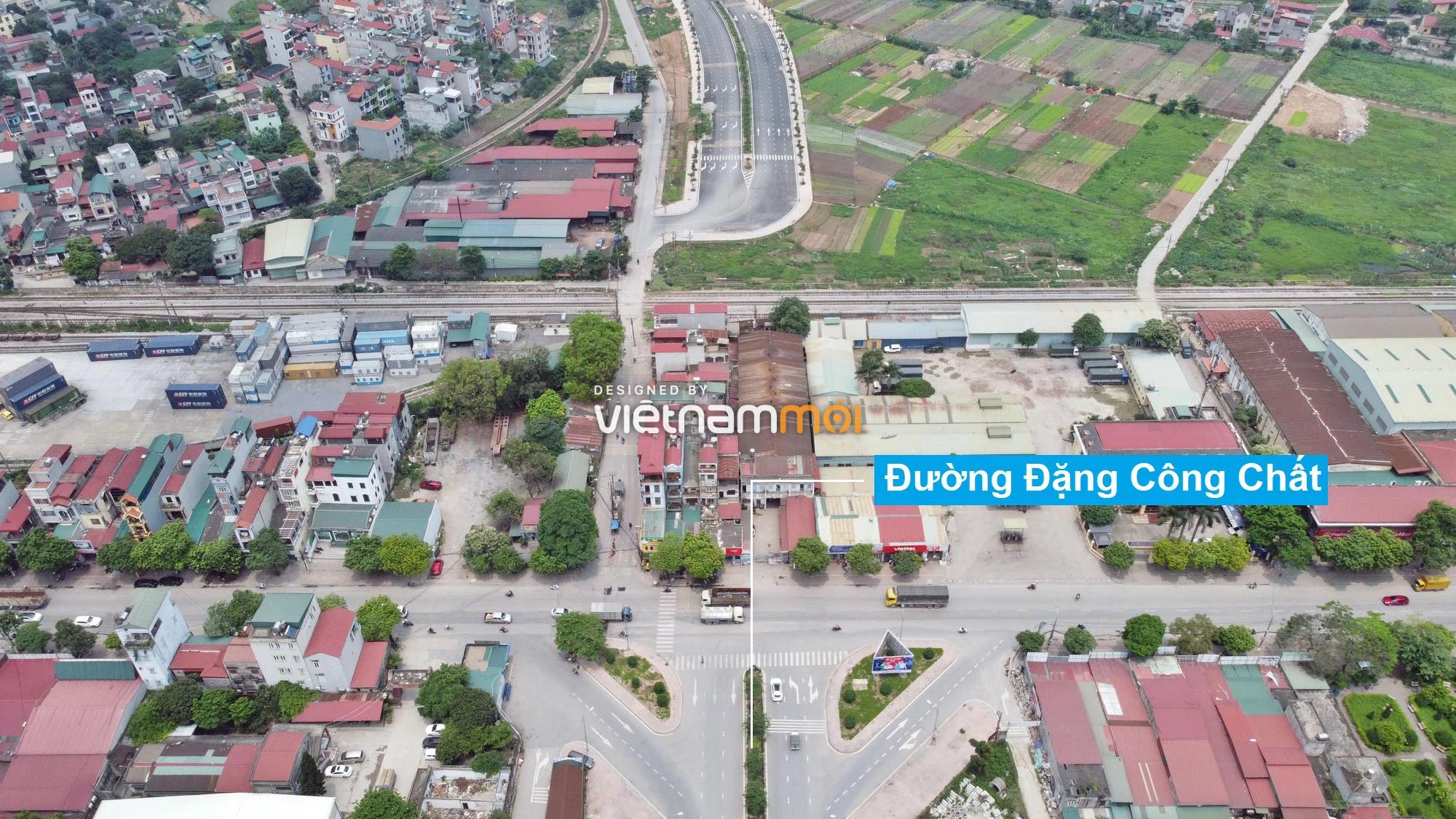 Toàn cảnh tuyến đường 40 m qua xã Yên Viên, Yên Thường đang mở theo quy hoạch ở Hà Nội - Ảnh 2.