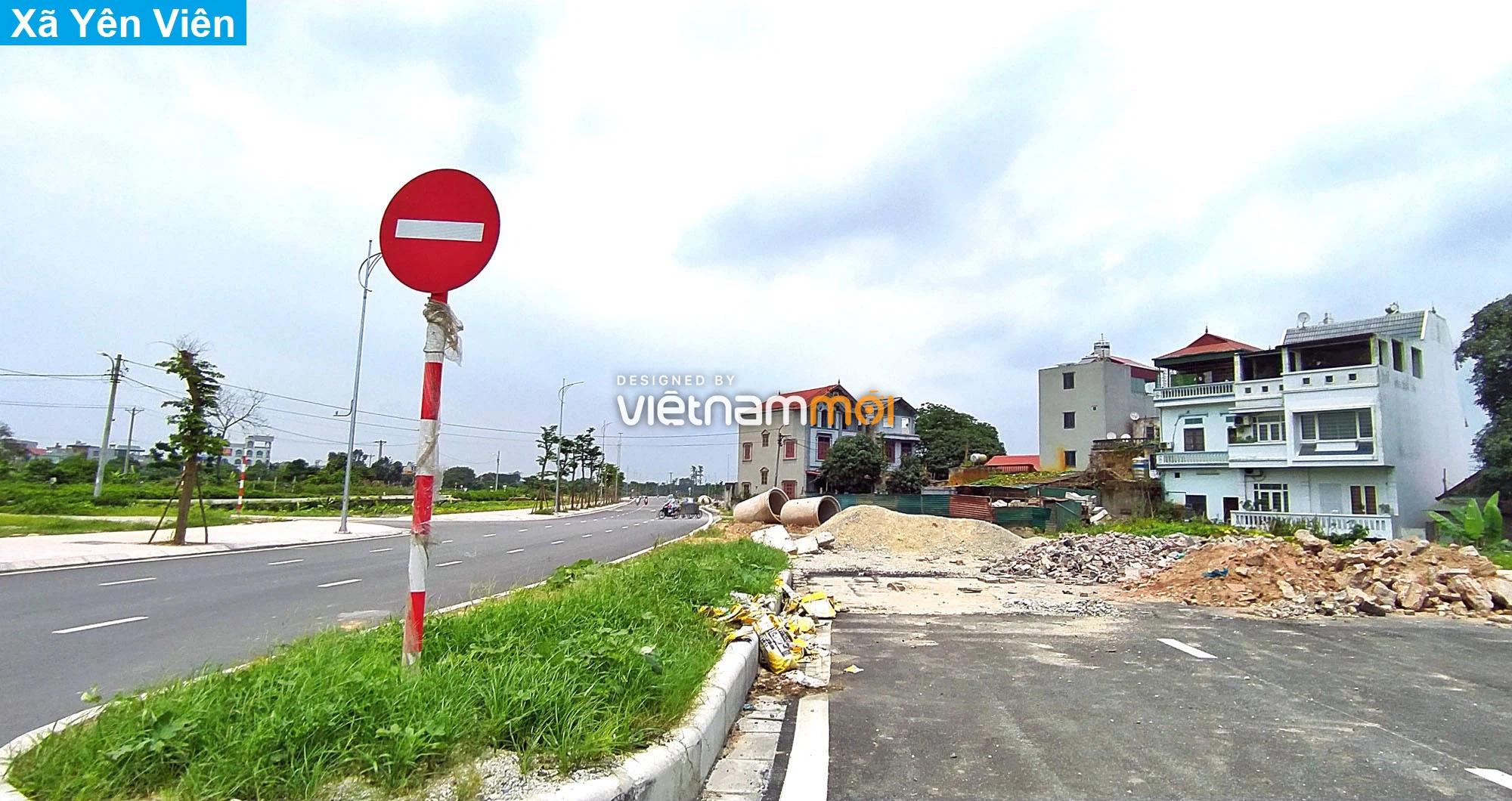 Toàn cảnh tuyến đường 40 m qua xã Yên Viên, Yên Thường đang mở theo quy hoạch ở Hà Nội - Ảnh 11.