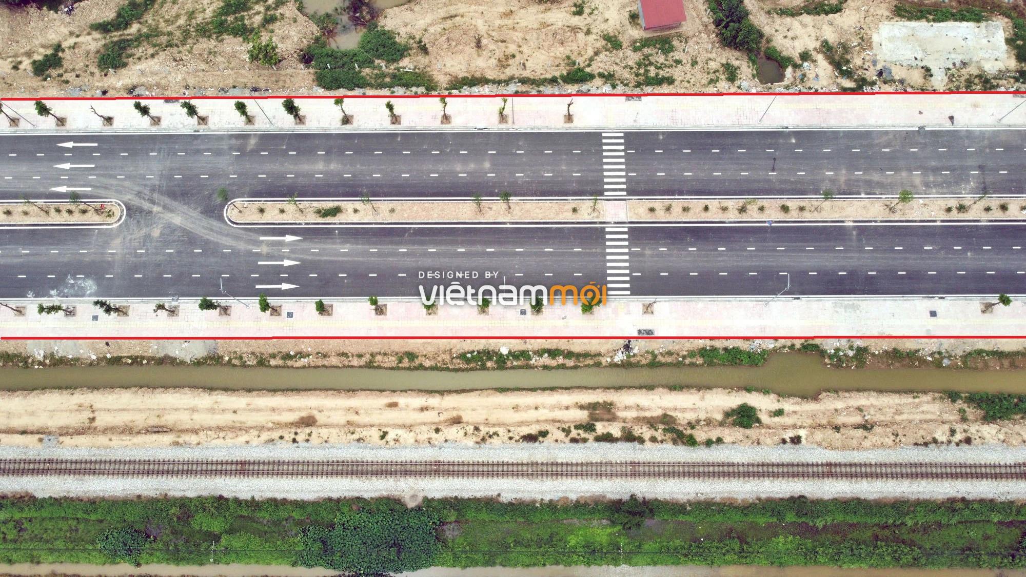 Toàn cảnh tuyến đường 40 m qua xã Yên Viên, Yên Thường đang mở theo quy hoạch ở Hà Nội - Ảnh 15.