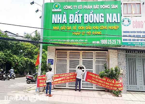 Bắt thêm 3 lãnh đạo CTCP BĐS Nhà đất Đồng Nai vì vẽ 4 dự án 'ma'  - Ảnh 1.