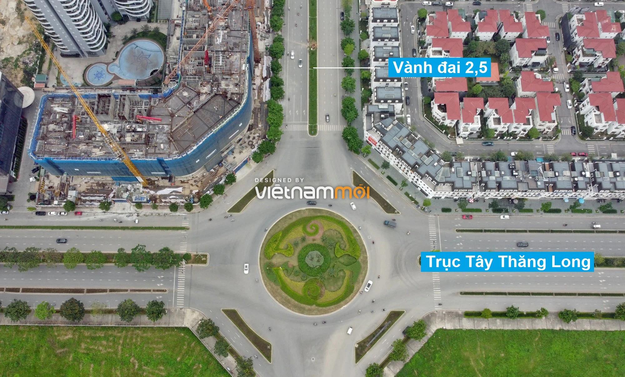 Vành đai 2,5 sẽ mở theo quy hoạch qua quận Bắc Từ Liêm, Hà Nội - Ảnh 4.