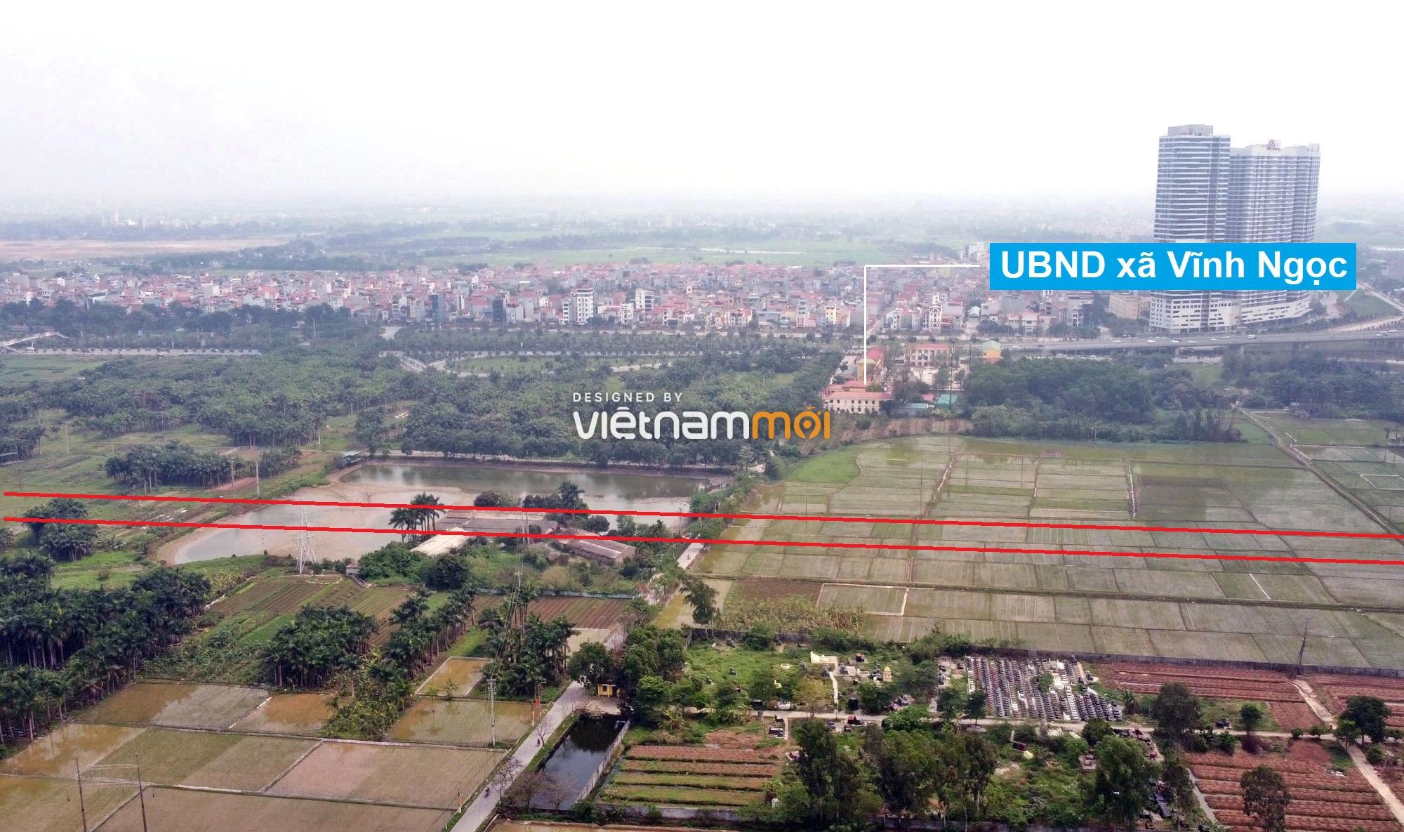 Đường sẽ mở theo quy hoạch ở xã Vĩnh Ngọc, Đông Anh, Hà Nội (phần 3) - Ảnh 3.