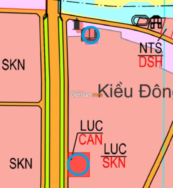 Đất dính quy hoạch ở xã Đại Xuyên, Phú Xuyên, Hà Nội - Ảnh 1.