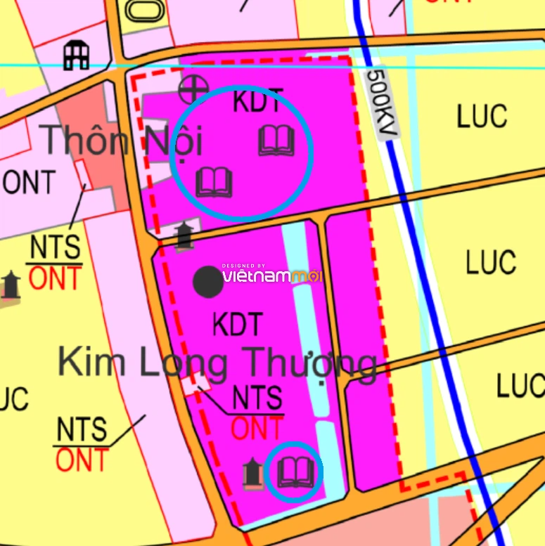Đất dính quy hoạch ở xã Hoàng Long, Phú Xuyên, Hà Nội - Ảnh 1.