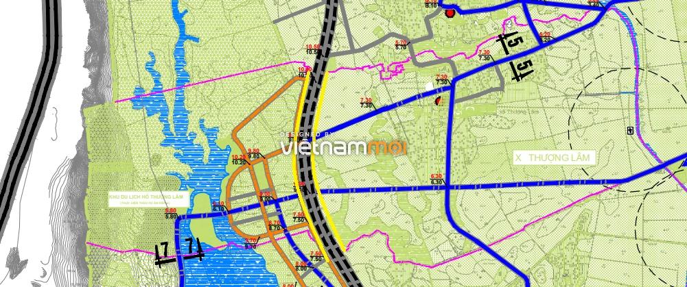 Đường sẽ mở ở xã Thượng Lâm, Mỹ Đức, Hà Nội - Ảnh 1.
