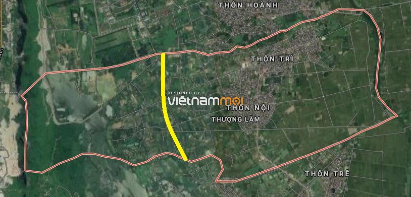 Đường sẽ mở ở xã Thượng Lâm, Mỹ Đức, Hà Nội - Ảnh 3.