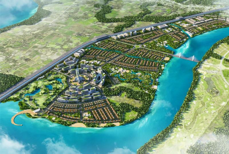Ngoài siêu dự án hơn 12.600 tỷ đồng vừa điều chỉnh quy hoạch, loạt dự án đang chờ DIC Corp vay vốn thực hiện - Ảnh 1.