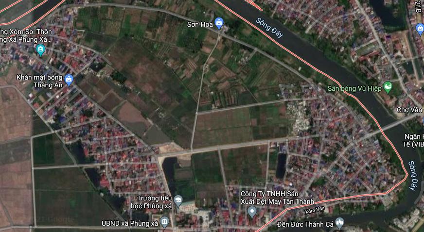 Đất dính quy hoạch ở xã Phùng Xá, Mỹ Đức, Hà Nội - Ảnh 3.