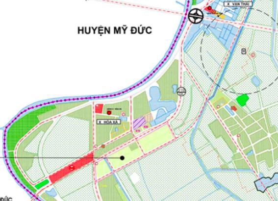 Bản đồ quy hoạch sử dụng đất xã Hoà Xá, Ứng Hoà, Hà Nội - Ảnh 2.
