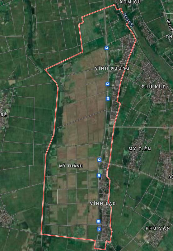 Bản đồ quy hoạch giao thông xã Mỹ Thành, Mỹ Đức, Hà Nội - Ảnh 1.