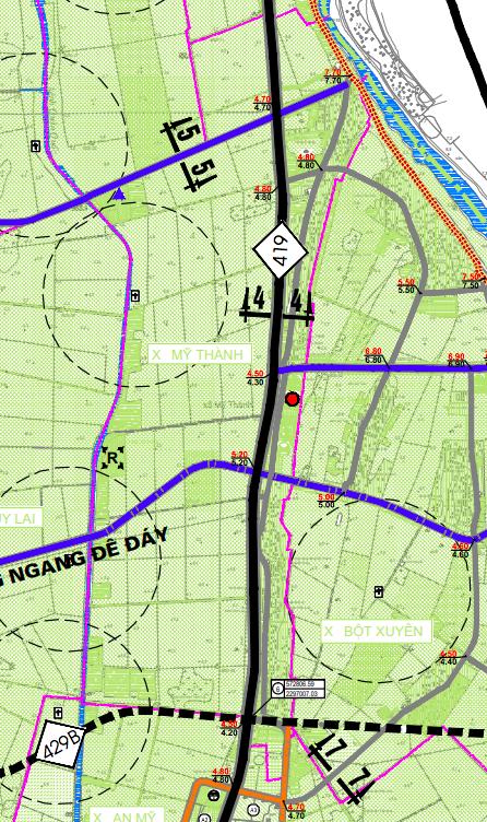 Bản đồ quy hoạch giao thông xã Mỹ Thành, Mỹ Đức, Hà Nội - Ảnh 2.