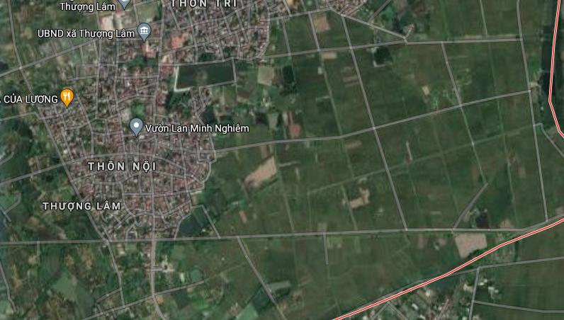 Đất dính quy hoạch ở xã Thượng Lâm, Mỹ Đức, Hà Nội - Ảnh 3.