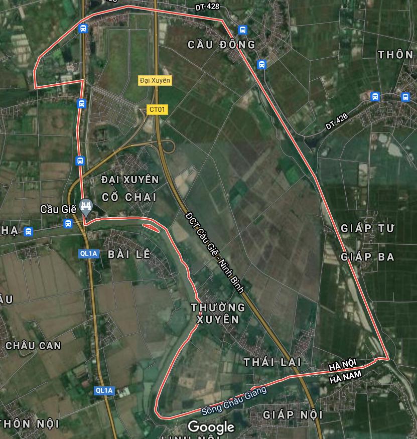Kế hoạch sử dụng đất xã Đại Xuyên, Phú Xuyên, Hà Nội năm 2021 - Ảnh 1.
