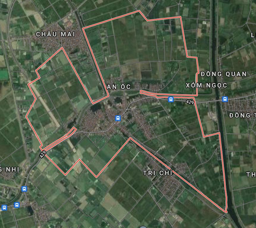 Bản đồ quy hoạch giao thông xã Hồng Minh, Phú Xuyên, Hà Nội - Ảnh 1.