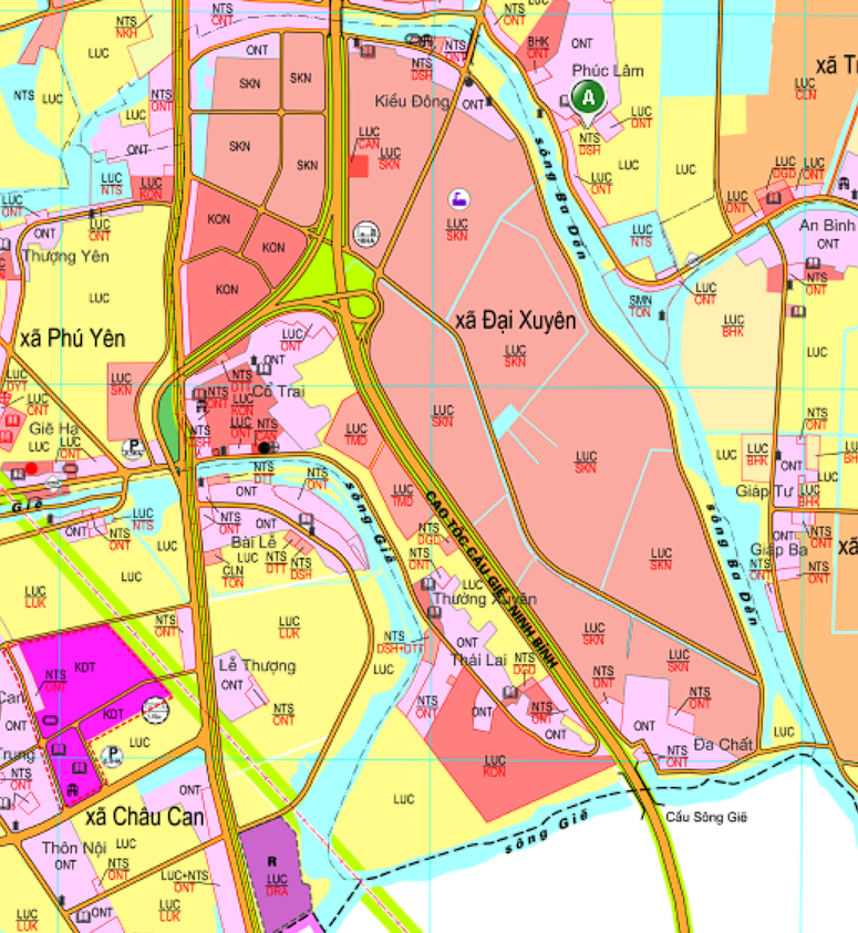 Bản đồ quy hoạch giao thông xã Đại Xuyên, Phú Xuyên, Hà Nội - Ảnh 2.