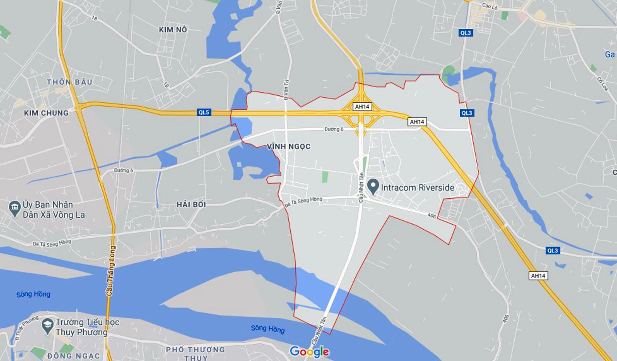 Đường sẽ mở theo quy hoạch ở xã Vĩnh Ngọc, Đông Anh, Hà Nội (phần 3) - Ảnh 1.