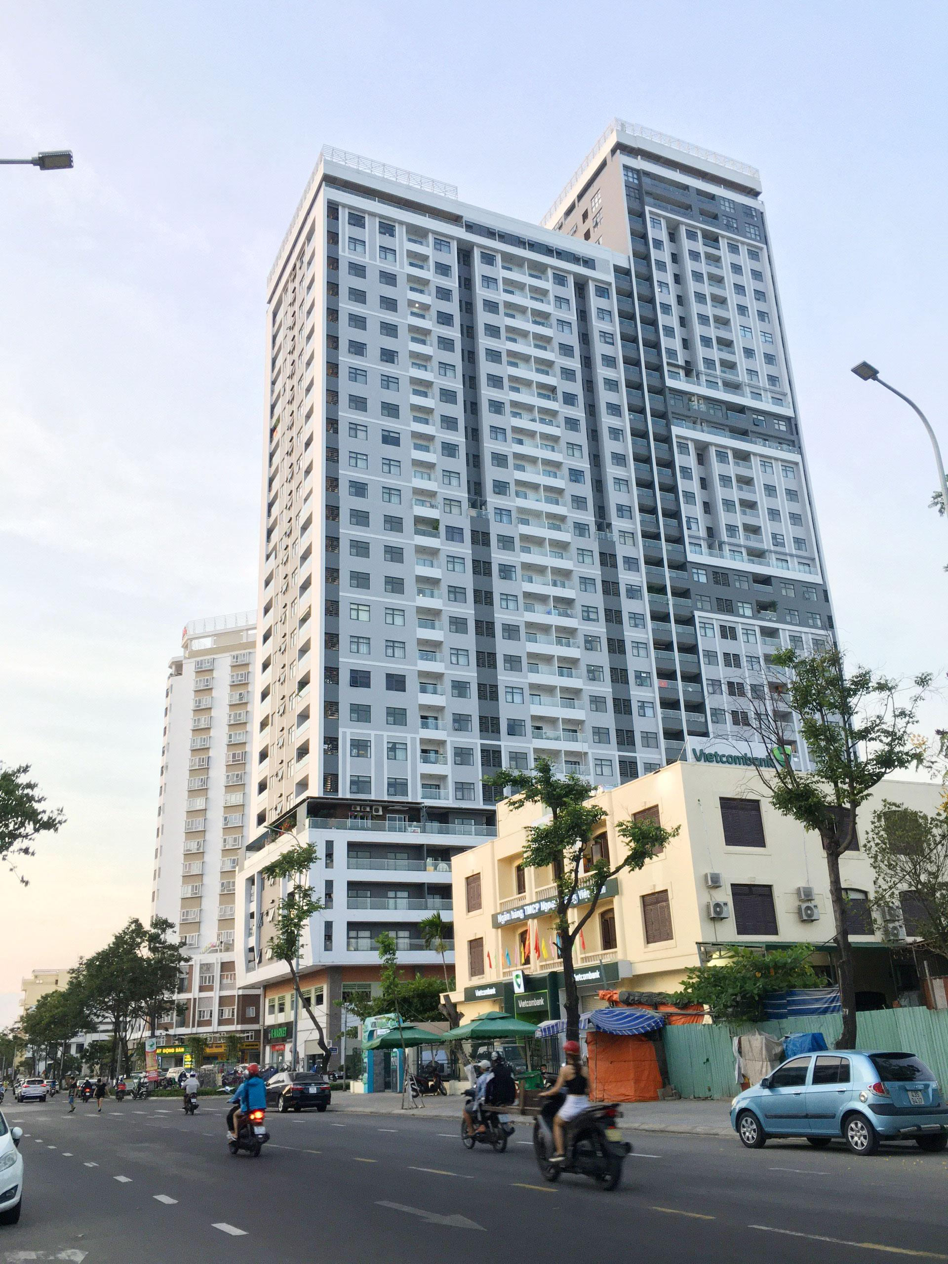 Đề nghị dừng hoạt động chung cư Monarchy Block B của Nhà Đà Nẵng - Ảnh 1.