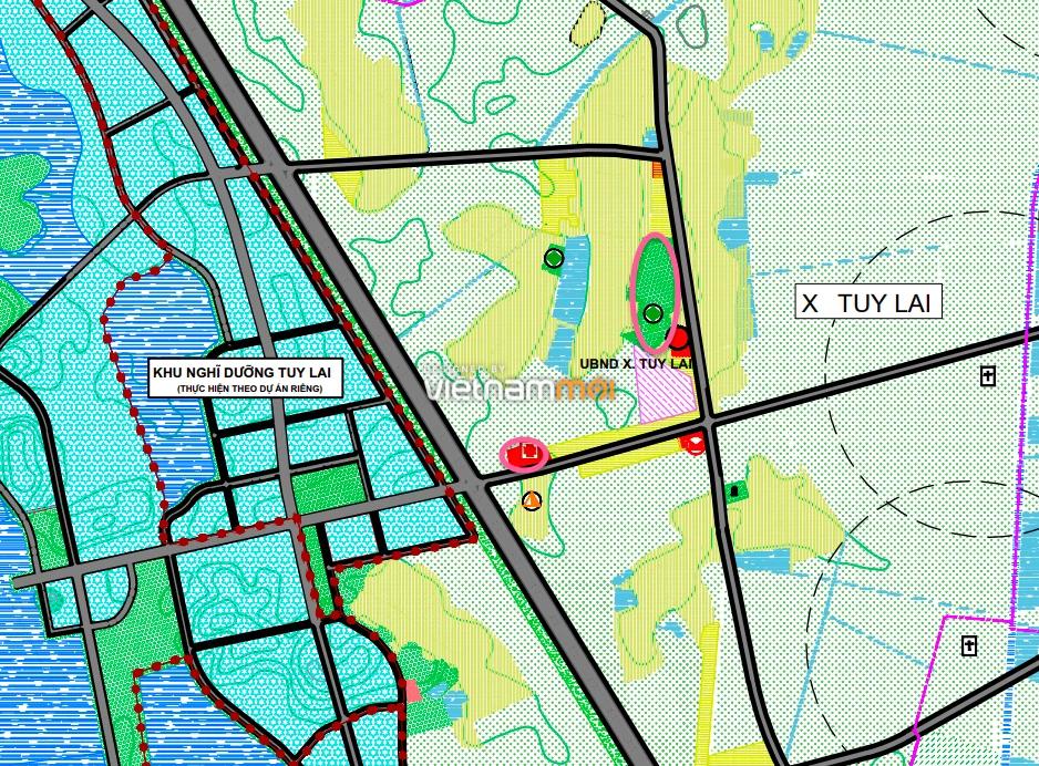Đất dính quy hoạch ở xã Tuy Lai, Mỹ Đức, Hà Nội - Ảnh 1.
