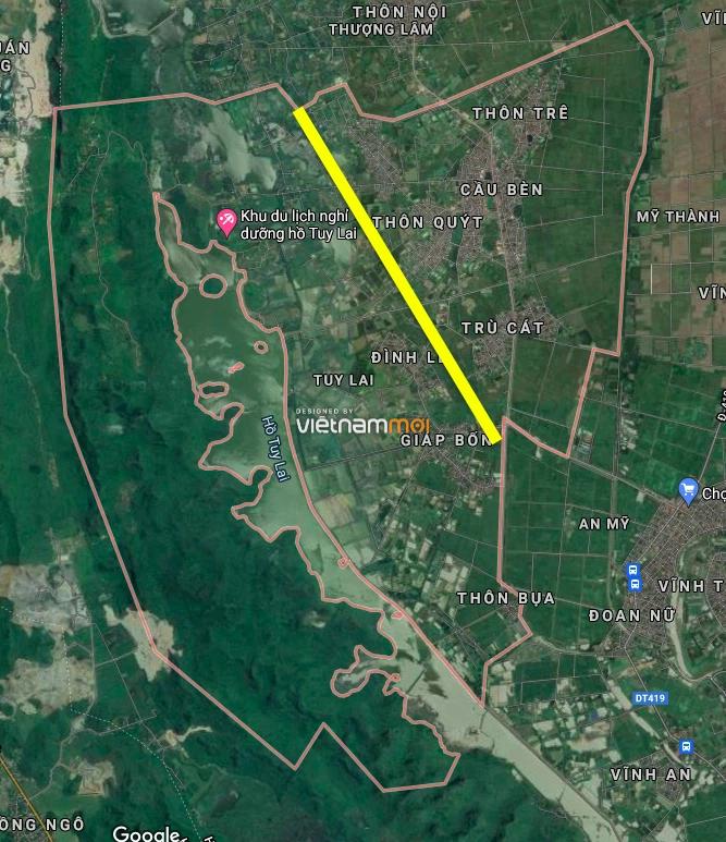 Đường sẽ mở ở xã Tuy Lai, Mỹ Đức, Hà Nội - Ảnh 3.
