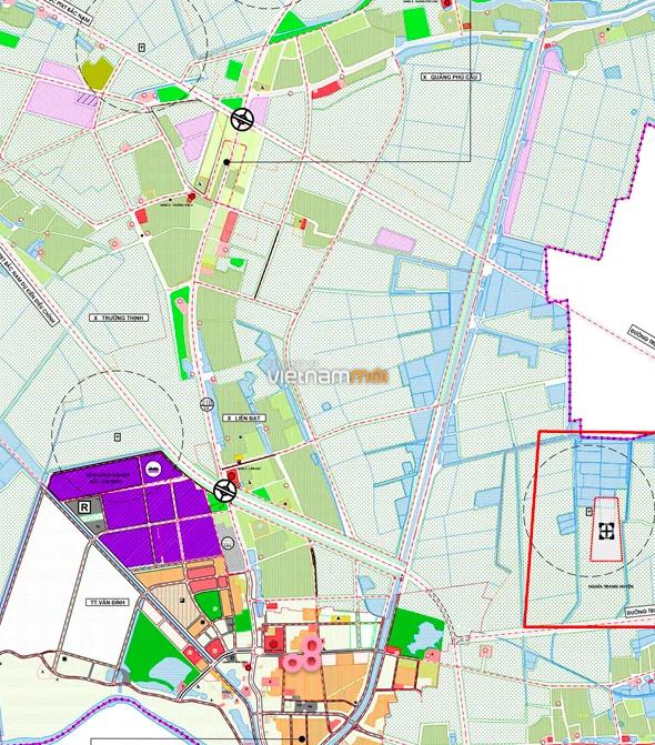 Đất dính quy hoạch ở xã Liên Bạt, Ứng Hoà, Hà Nội - Ảnh 1.