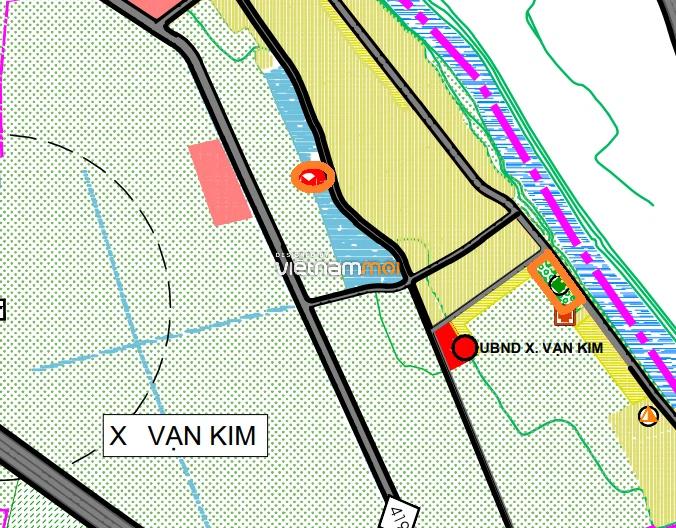 Đất dính quy hoạch ở xã Vạn Kim, Mỹ Đức, Hà Nội - Ảnh 1.