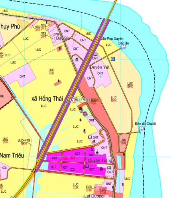 Đường sẽ mở ở xã Hồng Thái, Phú Xuyên, Hà Nội - Ảnh 1.