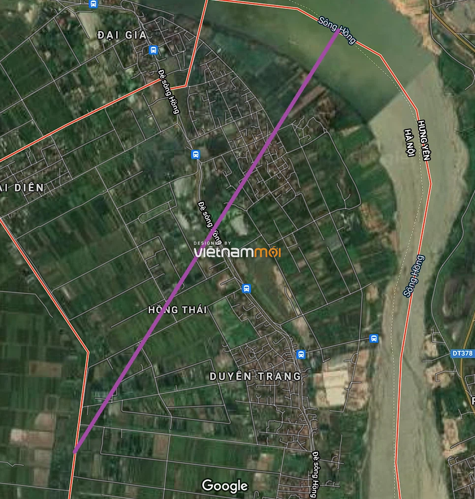 Đường sẽ mở ở xã Hồng Thái, Phú Xuyên, Hà Nội - Ảnh 2.