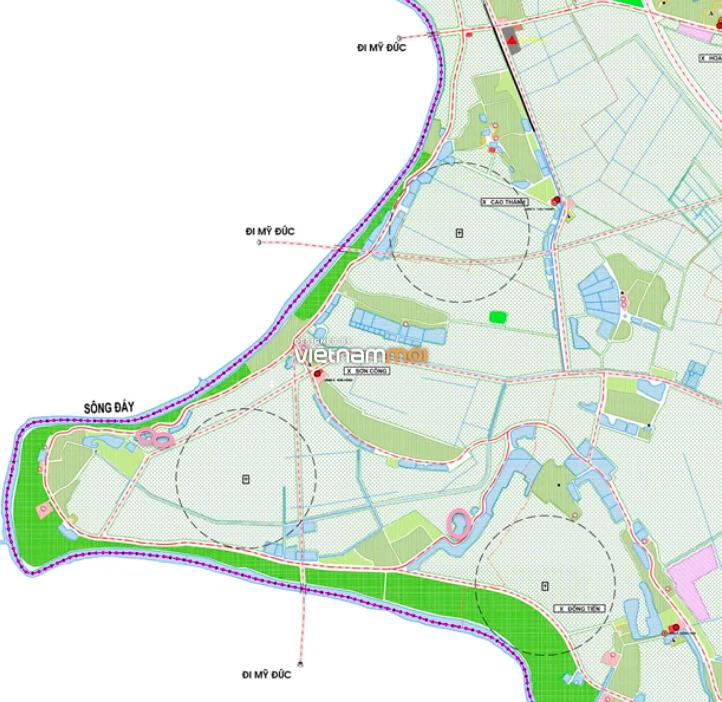 Đất dính quy hoạch ở xã Sơn Công, Ứng Hoà, Hà Nội - Ảnh 1.
