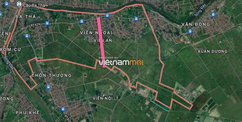 Đường sẽ mở ở xã Viên An, Ứng Hoà, Hà Nội - Ảnh 2.