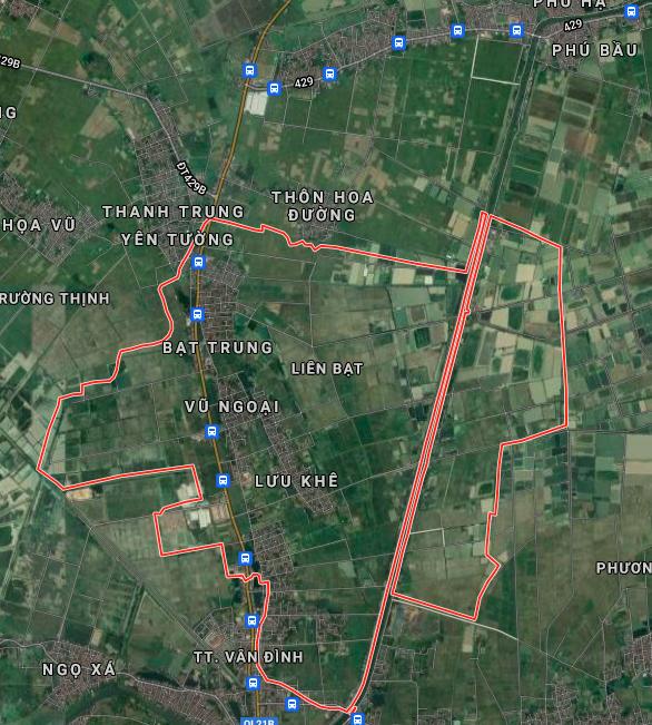 Bản đồ quy hoạch sử dụng đất xã Liên Bạt, Ứng Hoà, Hà Nội - Ảnh 1.