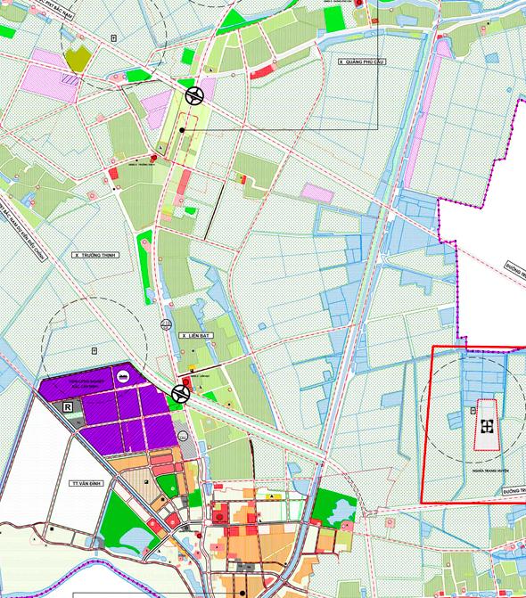 Bản đồ quy hoạch sử dụng đất xã Liên Bạt, Ứng Hoà, Hà Nội - Ảnh 2.