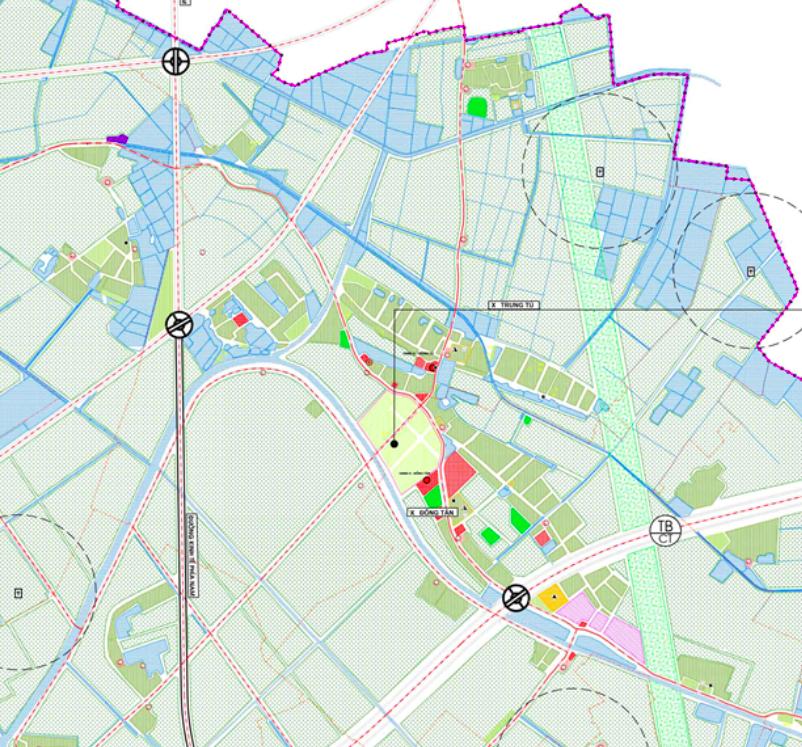 Bản đồ quy hoạch sử dụng đất xã Trung Tú, Ứng Hoà, Hà Nội - Ảnh 2.