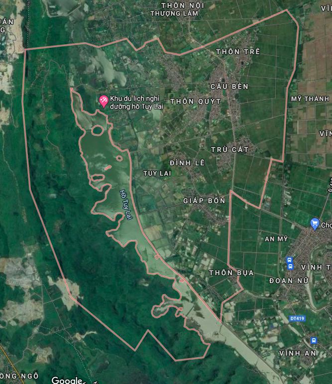 Bản đồ quy hoạch giao thông xã Tuy Lai, Mỹ Đức, Hà Nội - Ảnh 1.