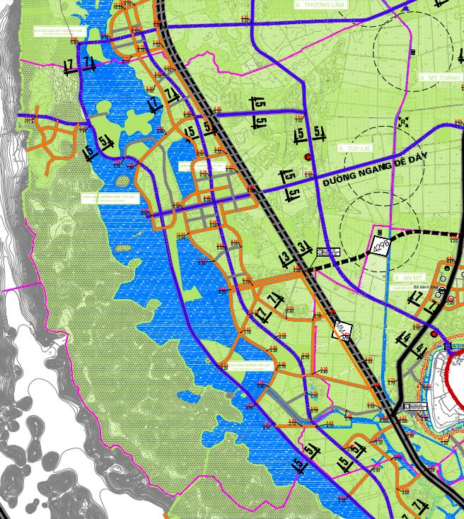 Bản đồ quy hoạch giao thông xã Tuy Lai, Mỹ Đức, Hà Nội - Ảnh 2.
