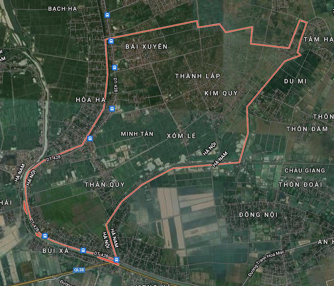 Kế hoạch sử dụng đất xã Minh Tân, Phú Xuyên, Hà Nội năm 2021 - Ảnh 1.