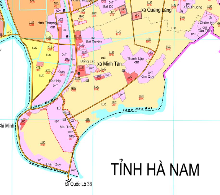 Bản đồ quy hoạch giao thông xã Minh Tân, Phú Xuyên, Hà Nội - Ảnh 2.