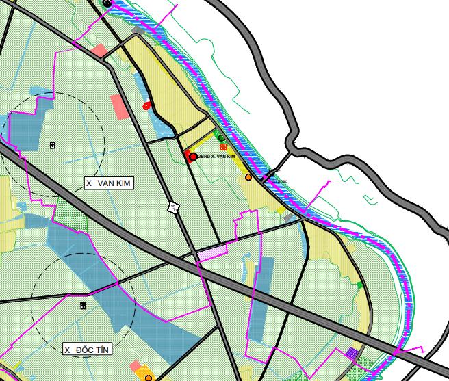 Bản đồ quy hoạch sử dụng đất xã Vạn Kim, Mỹ Đức, Hà Nội - Ảnh 2.