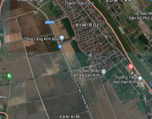 Đất dính quy hoạch ở xã Vạn Kim, Mỹ Đức, Hà Nội - Ảnh 3.