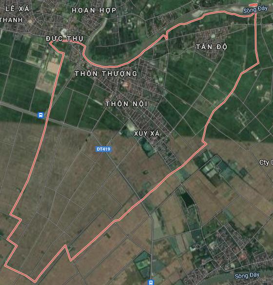 Bản đồ quy hoạch sử dụng đất xã Xuy Xá, Mỹ Đức, Hà Nội - Ảnh 1.