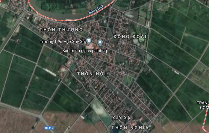 Đất dính quy hoạch ở xã Xuy Xá, Mỹ Đức, Hà Nội - Ảnh 3.