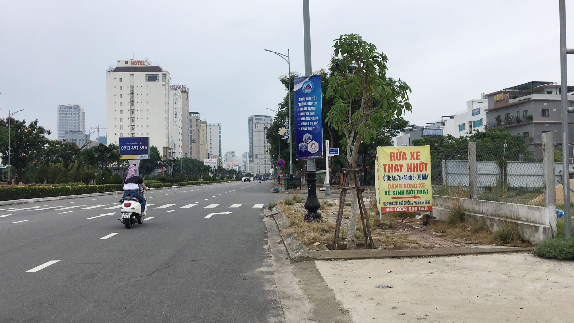Cận cảnh hai khu đất sát Vincom Đà Nẵng sẽ đấu giá làm bãi đỗ xe - Ảnh 5.