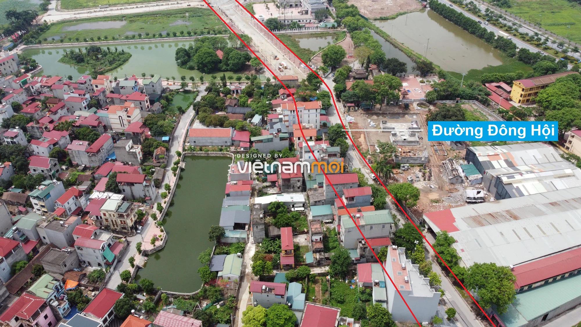 Đường sẽ mở theo quy hoạch ở xã Đông Hội, Đông Anh, Hà Nội (phần 2) - Ảnh 3.