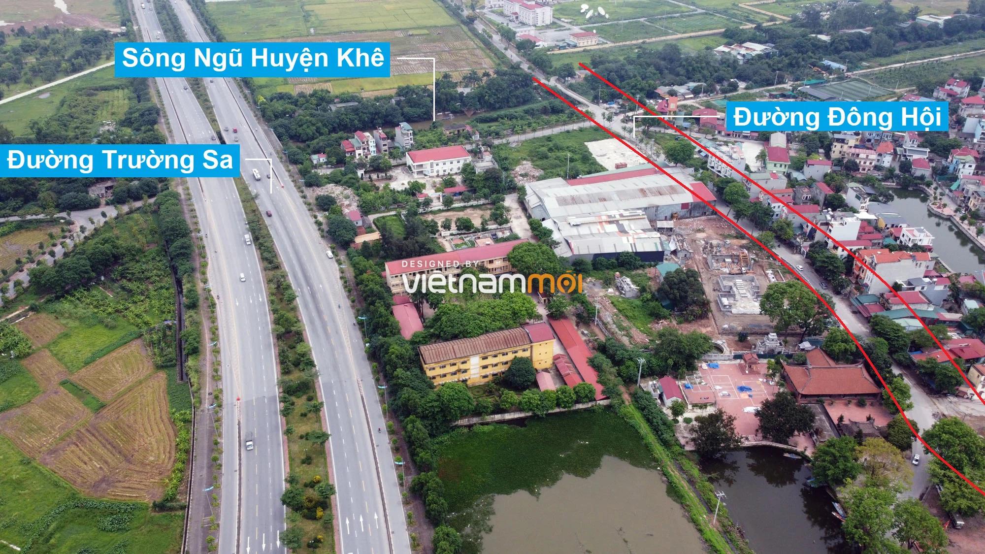 Đường sẽ mở theo quy hoạch ở xã Đông Hội, Đông Anh, Hà Nội (phần 2) - Ảnh 4.