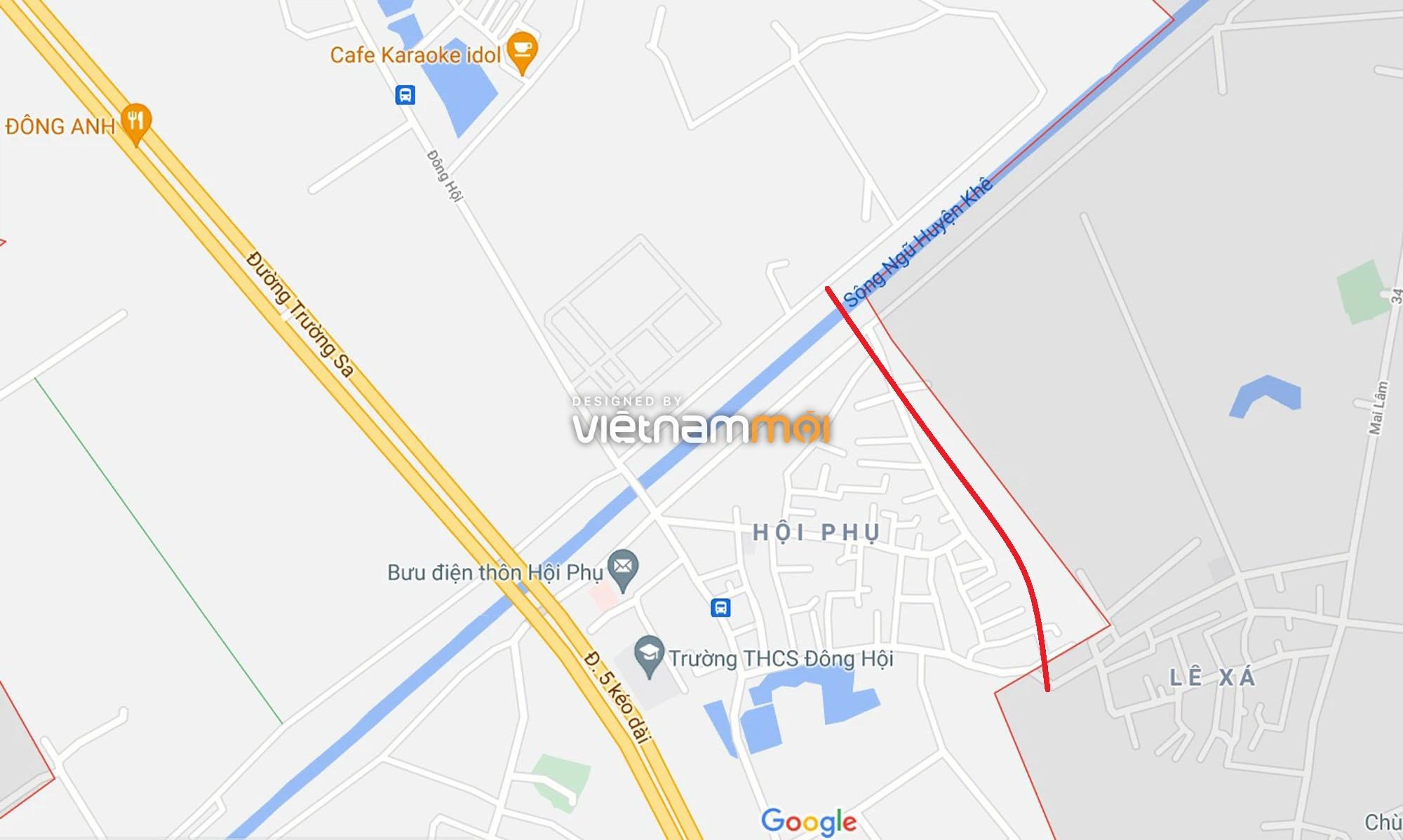 Đường sẽ mở theo quy hoạch ở xã Đông Hội, Đông Anh, Hà Nội (phần 2) - Ảnh 5.
