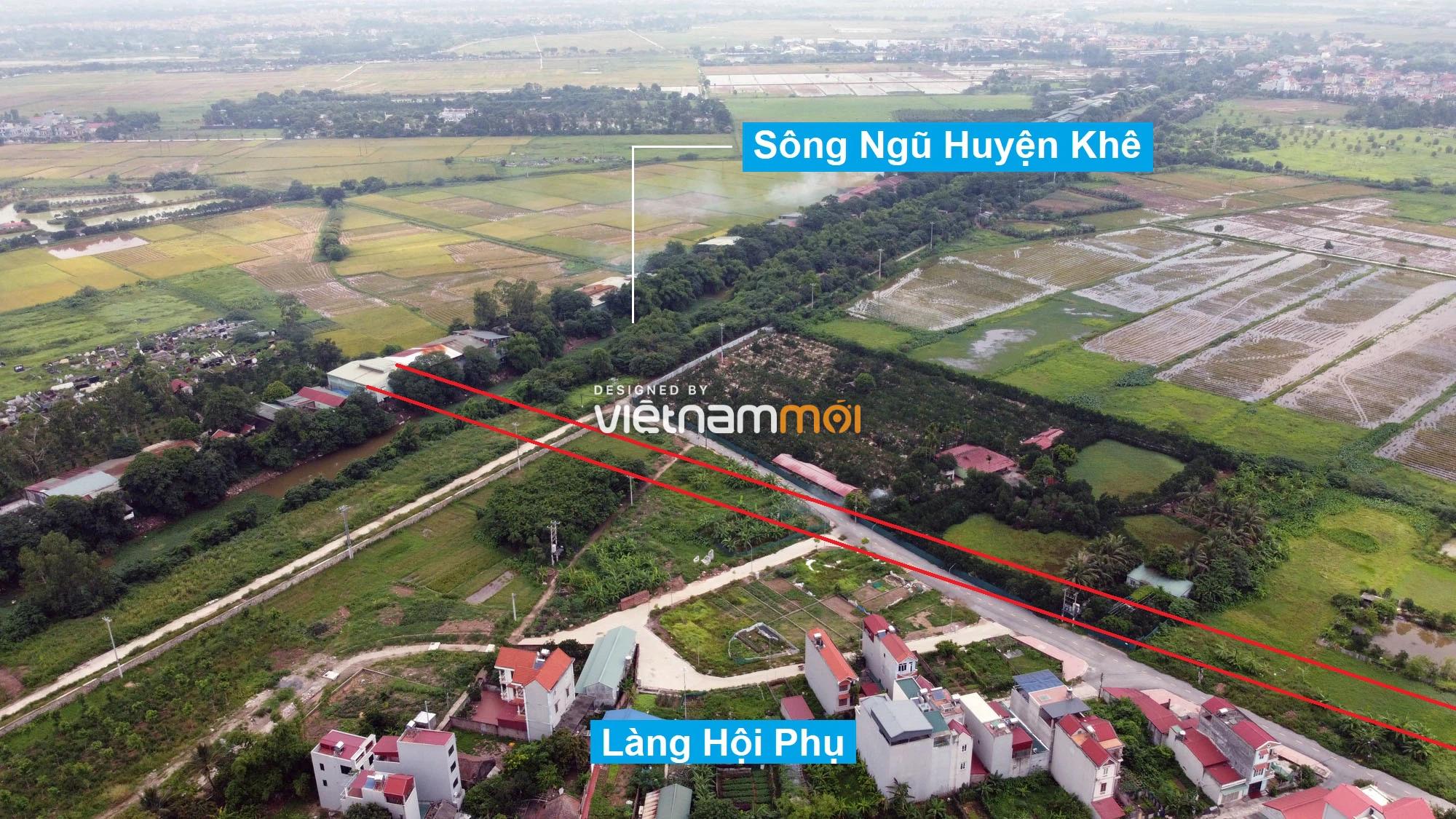 Đường sẽ mở theo quy hoạch ở xã Đông Hội, Đông Anh, Hà Nội (phần 2) - Ảnh 7.