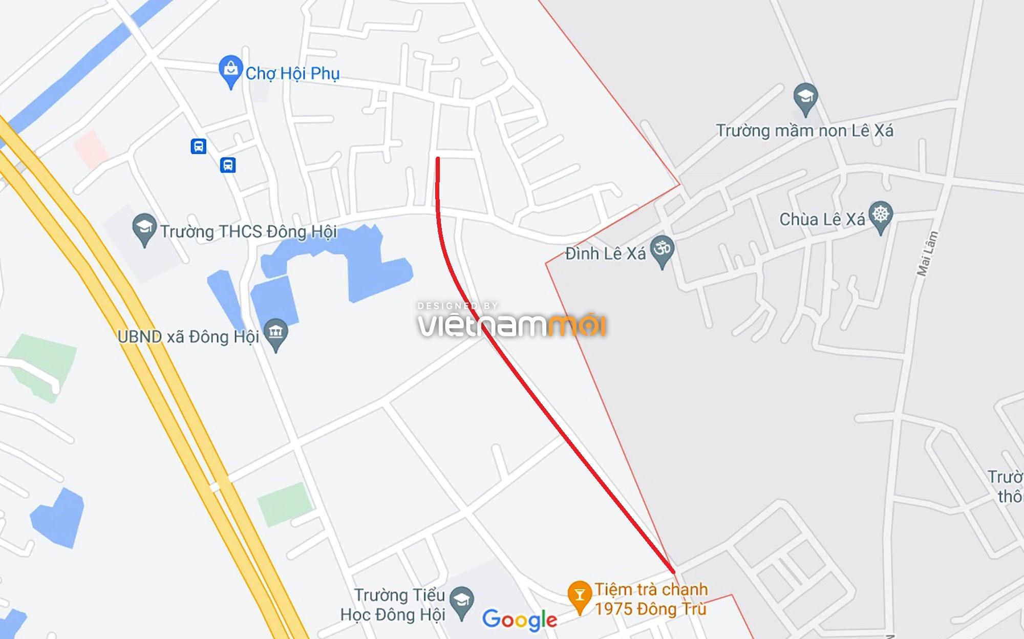 Đường sẽ mở theo quy hoạch ở xã Đông Hội, Đông Anh, Hà Nội (phần 2) - Ảnh 8.