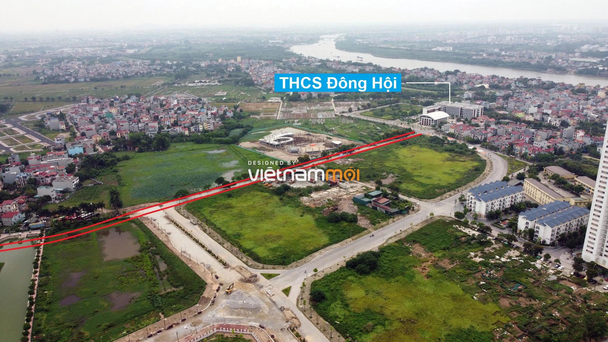 Đường sẽ mở theo quy hoạch ở xã Đông Hội, Đông Anh, Hà Nội (phần 2) - Ảnh 9.